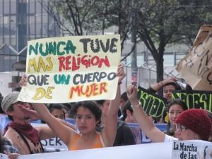 qué es la marcha de las putas Colombia