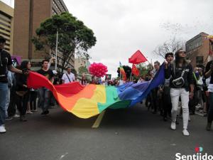 cómo es la marcha del orgullo gay de Bogotá