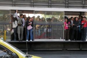 Críticas contra Transmilenio Bogotá