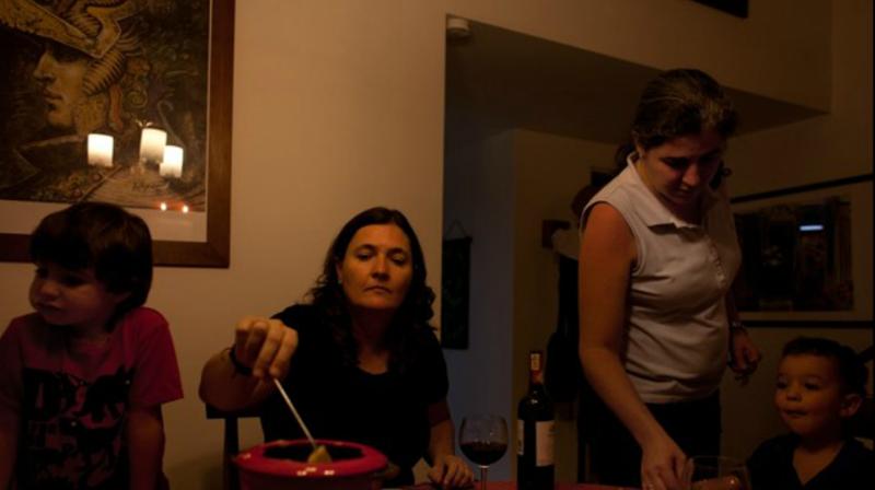 cómo es el caso de las mamás lesbianas de Medellín