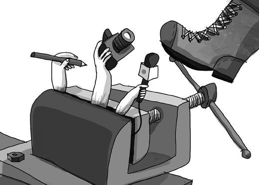 cómo son en realidad los medios de comunicación en Colombia