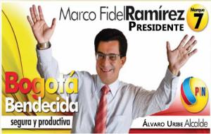 Ideas del concejal de Bogotá Marco Fidel Ramírez, el concejal de la familia