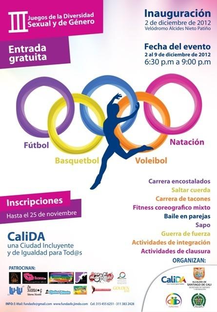 Actividades LGBTI en Cali Colombia