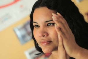información sobre la mujer trasngénero Diane Rodríguez de la Asociación Silueta X