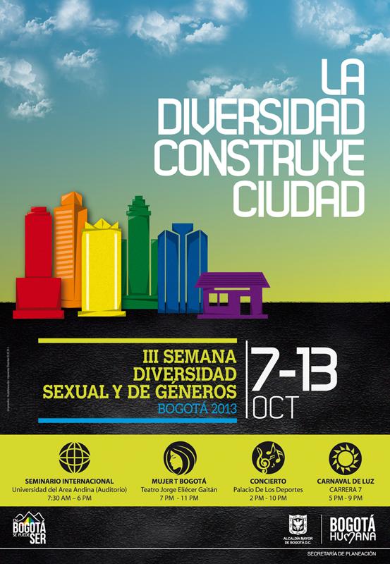 cuándo es la semana de la diversidad sexual de Bogotá