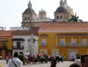 Plaza de la Aduana de Cartagena