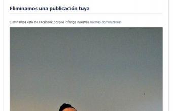 Eliminada de Facebook