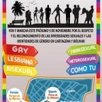 V Marcha de la Diversidad LGBT Cartagena