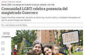 El periódico El Espectador destacó en la primera página de su edición impresa, la luz de esperanza que se abre en el caso de Ana y Verónica.