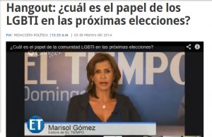 El papel de la comunidad LGBTI en las elecciones - Debate El Tiempo