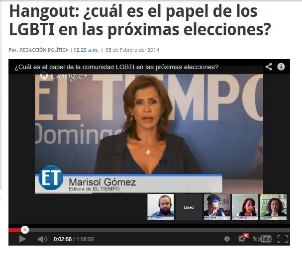 Posición de la congresista María Fernanda Cabal sobre los LGBT