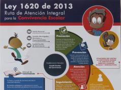 Análisis ley 1620 Colombia.