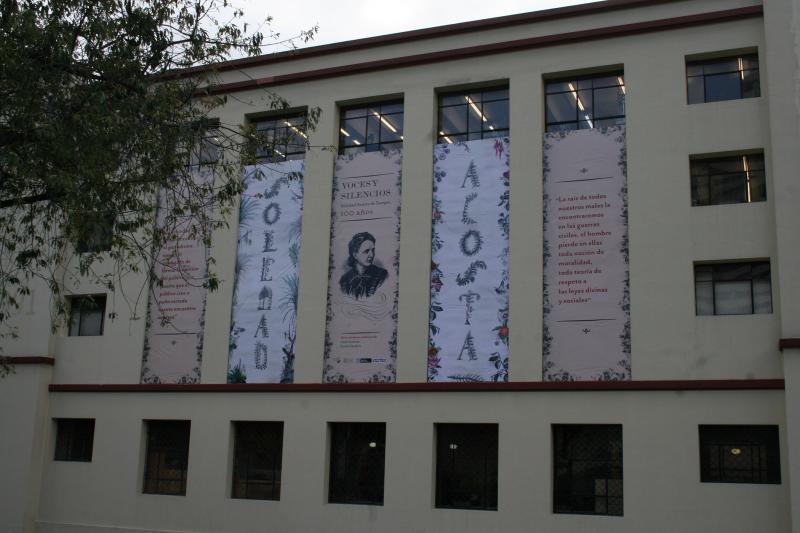 Exposición Soledad Acosta de Samper biblioteca nacional