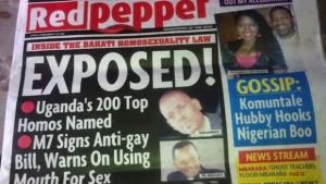 qué dice  Uganda y Rusia sobre la homosexualidad