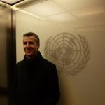 Charles Radcliffe, encargado del área de Asuntos Globales de la Oficina del Alto Comisionado de las Naciones Unidas para los Derechos Humanos.