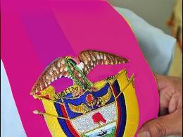 Banda presidencial Colombia