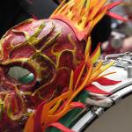 Máscara Marcha LGBT Bogotá