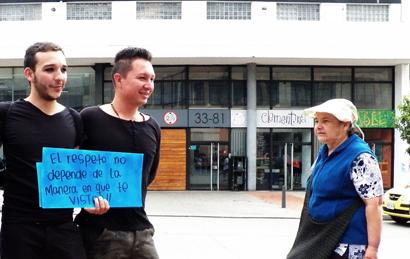 cómo es la marcha gay de Bogotá