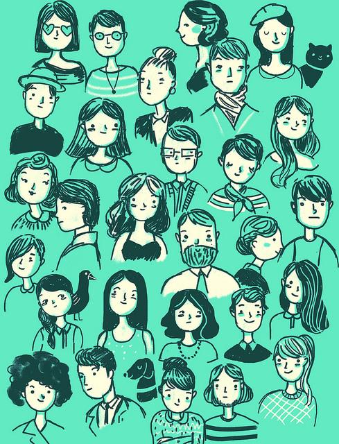 Personas de todo tipo
