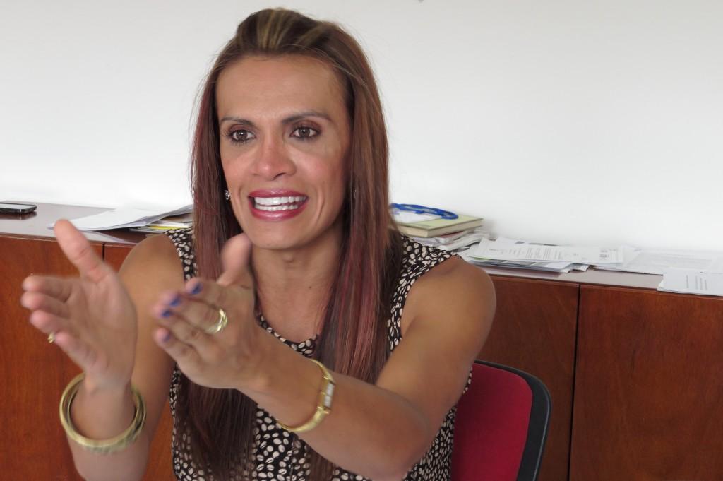Tatiana Piñeros, mujer transgénero Bogotá