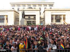 Marcha LGBT Bogotá 2014