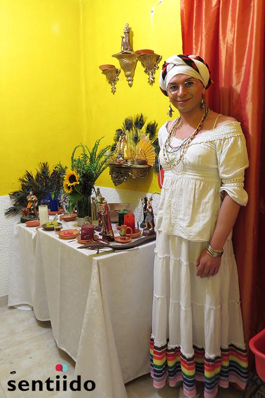 mujeres transgenero que practican santería