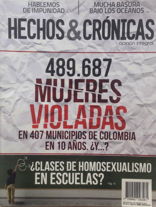 Revista cristiana Hechos y Crónicas.
