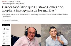 Gustavo Gómez nuevo director de La Luciérnaga.