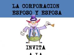 Este es el afiche oficial de la conferencia - taller organizada por la Corporación Esposo y Esposa.