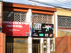 Después de mirar muchas casas, finalmente el primer centro comunitario LGBT que tuvo Bogotá estaba ubicado en la Calle 66 # 9A-28, en Chapinero. Foto: Colombia Diversa.
