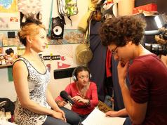 Una de las protagonistas del documental es ABCDEFG HIJKLMN OPQRST UVWXYZ, también conocida como Ladyzunga (Colombia). A la derecha.