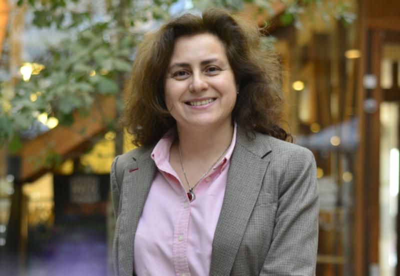 La abogada y jueza chilena Karen Atala actualmente es la directora de la Fundación Iguales de este país. Foto: Matías Delacroix.