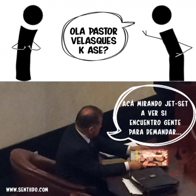 """Las pruebas """"contundentes"""" del pastor Velásquez para demandar a las congresistas Angélica Lozano y Claudia López..."""