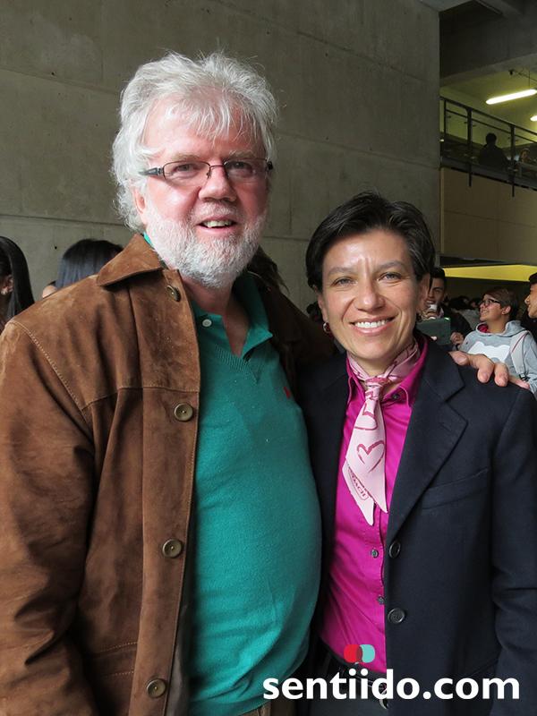 Claudia Lopez y Rodrigo Uprimny
