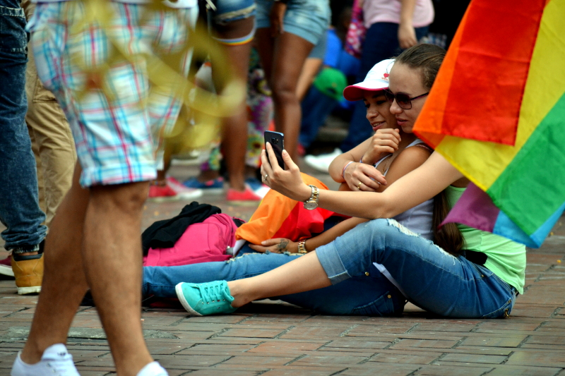 marchas lgbt colombia
