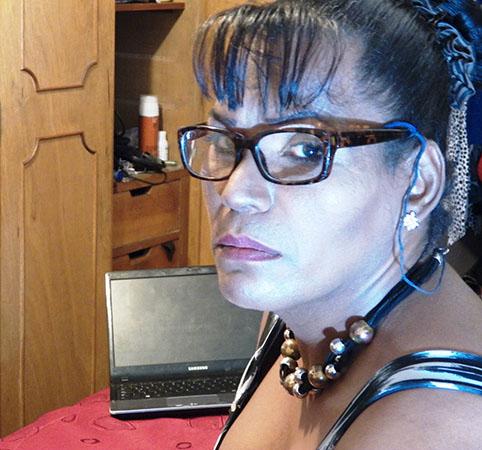 Diana Navarro, transgénero barrio Santa Fe