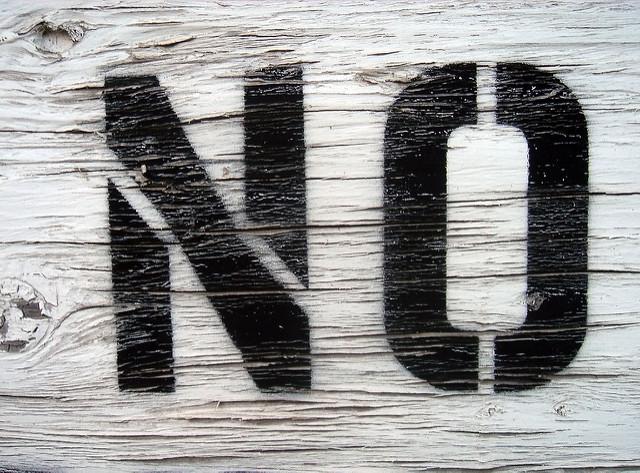 """Decir """"no"""": un privilegio de los hombres"""