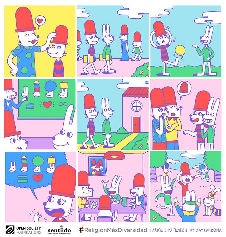 Educación sin prejuicios en cómic
