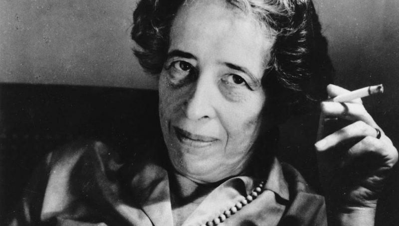 Hannah Arendt filosofa