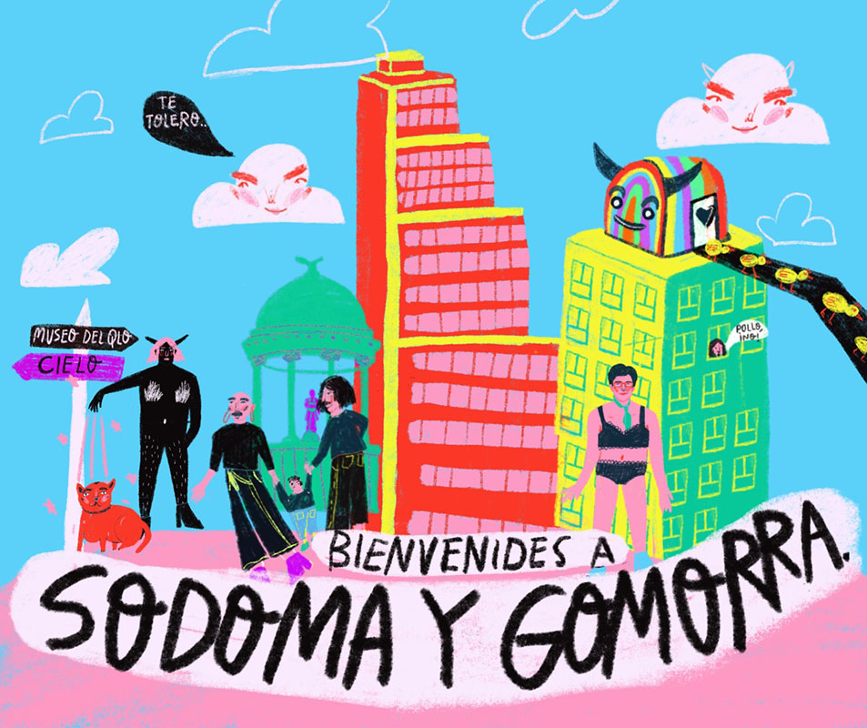 Tour Sodoma y Gomorra by Sentiido