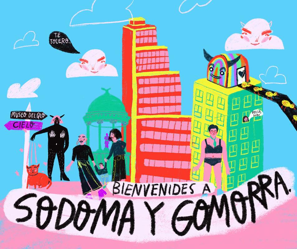 Tour Sodoma y Gomorra by Sentiido