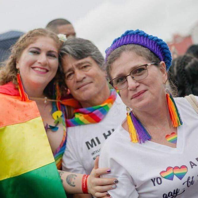 """Tener una hija lesbiana es un orgullo para mí"""